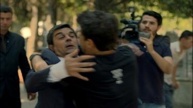 Kerim Melek'in cenazesinde