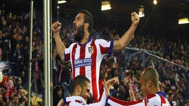 Atletico Madrid - Bayer Leverkusen (2014 - 2015 2.Tur Maçları)