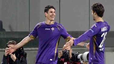 Fiorentina - Dinamo Kiev (2014-2015 Çeyrek Final Maçları)