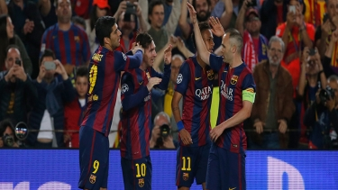Barcelona - Bayern Münih (2014 - 2015 Yarı Final Maçı)