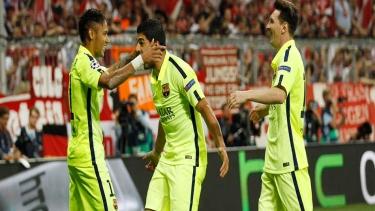Bayern Münih - Barcelona (2014 - 2015 Yarı Final Maçı)
