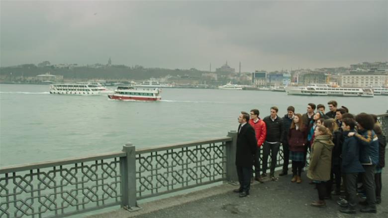 'İstanbul'u dinliyorum'