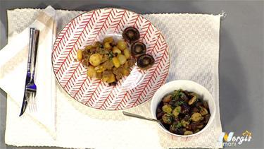 Izgara Zeytin Salatası Tarifi