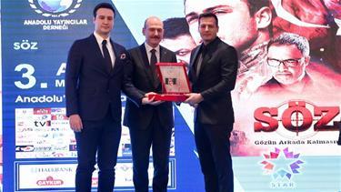 'Söz'e Bir Ödül de Başkent Ankara'dan Geldi!