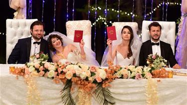 'Kazara Aşk'ta Çifte Düğün