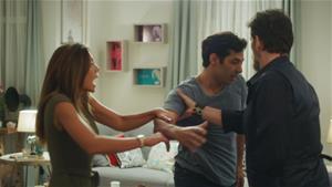 Serhan ve Kerim birbirine giriyor, Oya bakın kimin tarafını seçiyor!