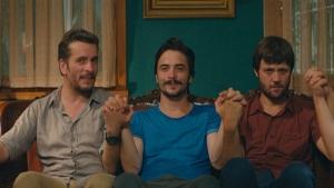 Ahmet, Murat ve Sadi'nin Meslek Hikayeleri sevinci