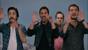 Faruk K, Ahmet Kural ve Murat Cemcir'den muhteşem dans