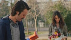 Sadi ve Zeynep'in çocuk parkındaki romantik anları!