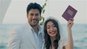 Nihan ve Kemal'in muhteşem nikah töreni!