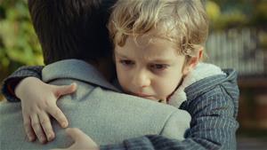 'Beni hiç bırakma baba'