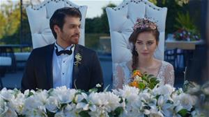 Büyük gün! Nazlı ve Ferit evlendi!