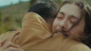 Nare ve Sancar'ın sevinç gözyaşları...