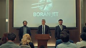 Boran Jet lansmanı