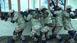 'Söz'ün gerçek askeri eğitim görüntüleri!