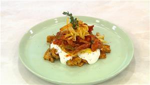 Patlıcanlı ve Yoğurtlu Kebap Tarifi