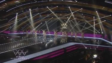 Elidor Miss Turkey kızlarının muhteşem dansı!