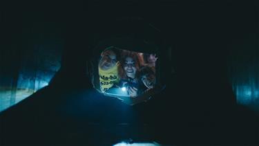 Kızlar tüneli buluyor