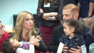 O Ses Türkiye ekibi işitme engellileri ziyaret etti!