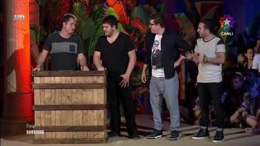 3 Adam'ın Survivor maceraları izleyenleri kahkahaya boğdu!