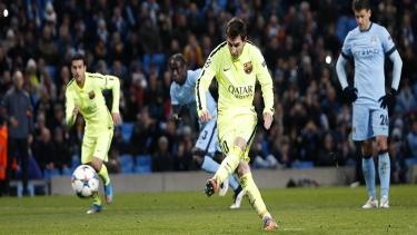 M.City - Barcelona (2014 - 2015 2.Tur Maçları)