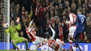 Arsenal - Monaco (2014 - 2015 2.Tur Maçları)