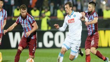 Napoli - Trabzonspor (2014-2015 2. Tur Maçları)