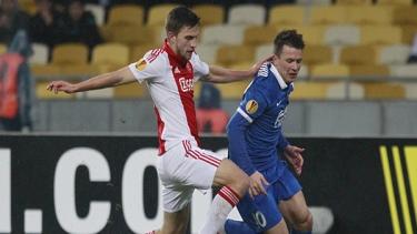 Dnipro - Ajax (2014-2015 3. Tur Maçları)