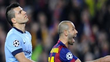 Barcelona - M.City (2014 - 2015 2.Tur Maçları)