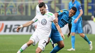 Inter - Vfl Wolfsburg (2014-2015 3. Tur Maçları)