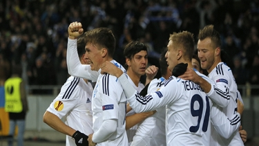 Dinamo Kiev - Everton (2014-2015 3. Tur Maçları)