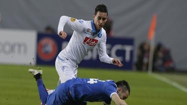 Dinamo Moskova - Napoli (2014-2015 3. Tur Maçları)