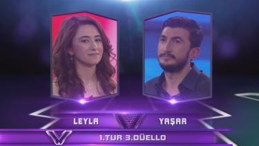 Leyla ve Yaşar'ın Düellosu - 8. Bölüm 1. Tur