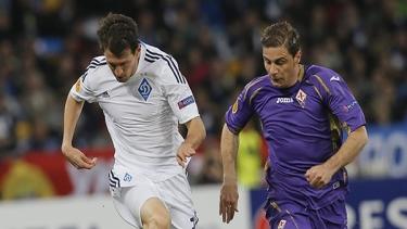 Dinamo Kiev - Fiorentina (2014-2015 Çeyrek Final Maçları)