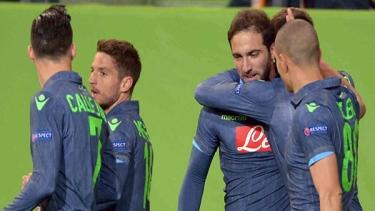 Vfl Wolfsburg - Napoli (2014-2015 Çeyrek Final Maçları)