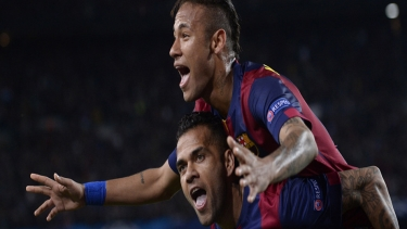 Barcelona - Paris St Germain (2014 - 2015 Çeyrek Final Maçı)