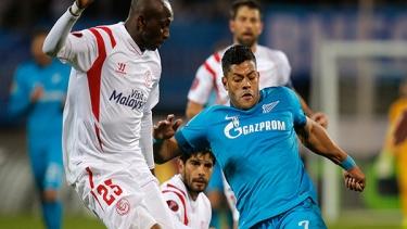Zenit - Sevilla (2014-2015 Çeyrek Final Maçları)